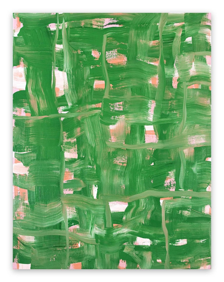 Anne Russinof Abstract Painting - Hedgerow