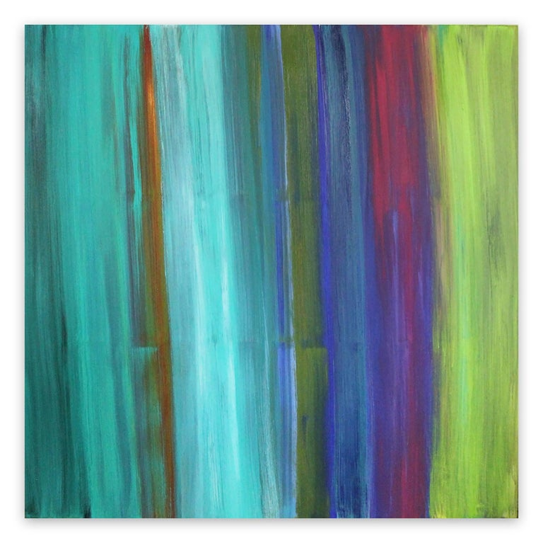 Deanna Sirlin Abstract Painting - What I Know Now