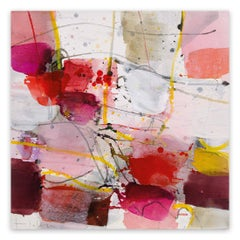 La vie en rose (Abstract Expressionism painting)