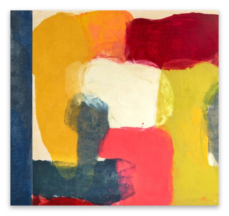 Tracey Adams Abstract Painting - Obligation to Retreat