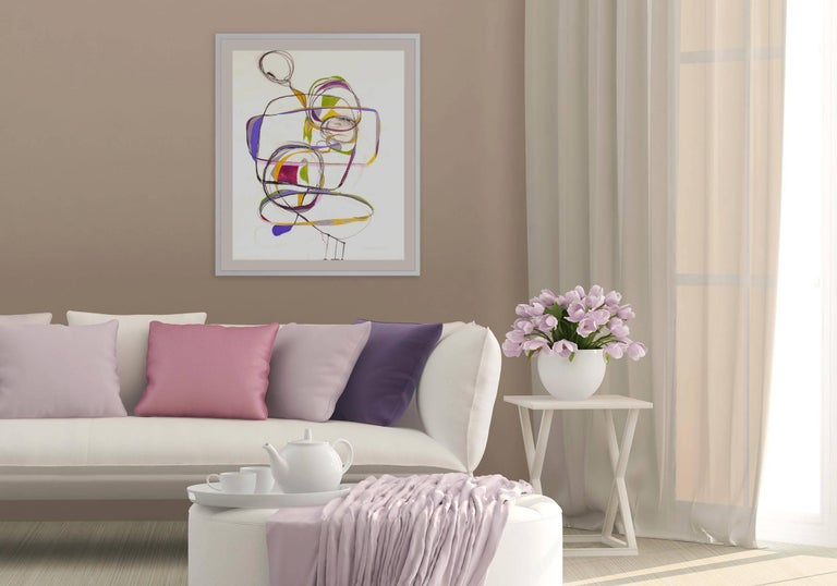 Balancing Act 1 - Painting by Tracey Adams