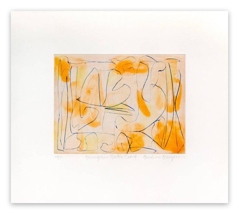 Melissa Meyer Abstract Print - Memphis belle court
