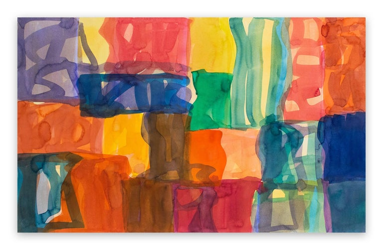 Melissa Meyer Abstract Painting - Yaddo B