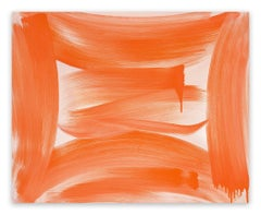 Orange Abstract Paintings