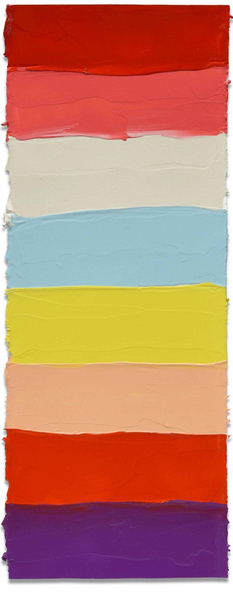 Anya Spielman Abstract Painting - Hashtag