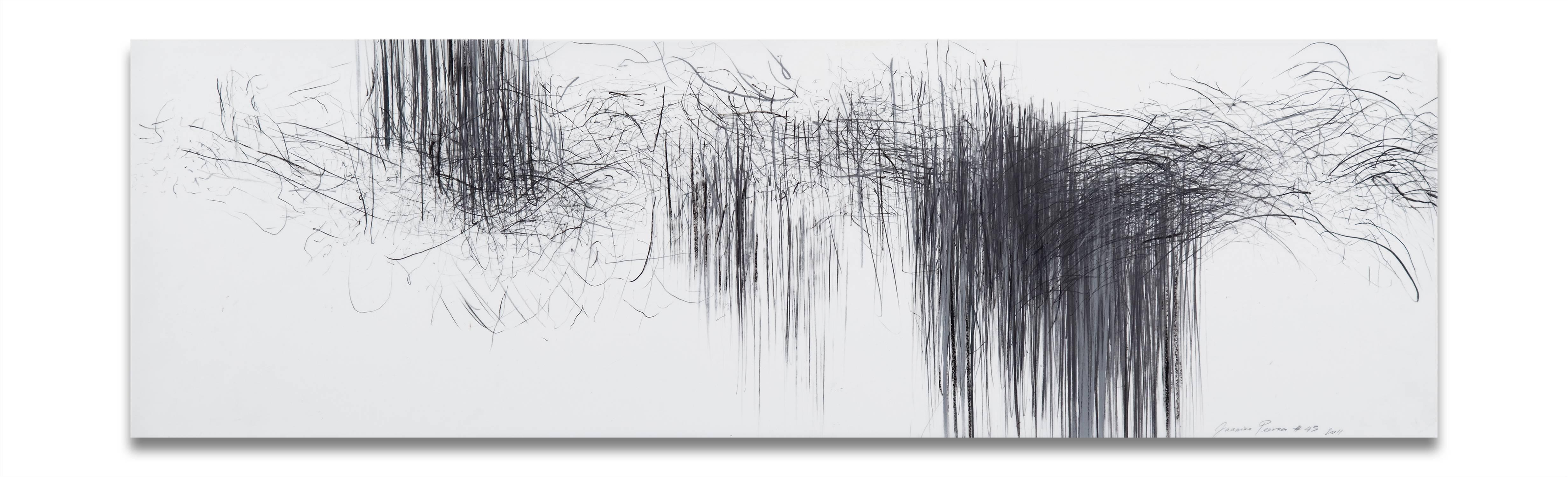 Storm series horizontal 43 (Abstract drawing)