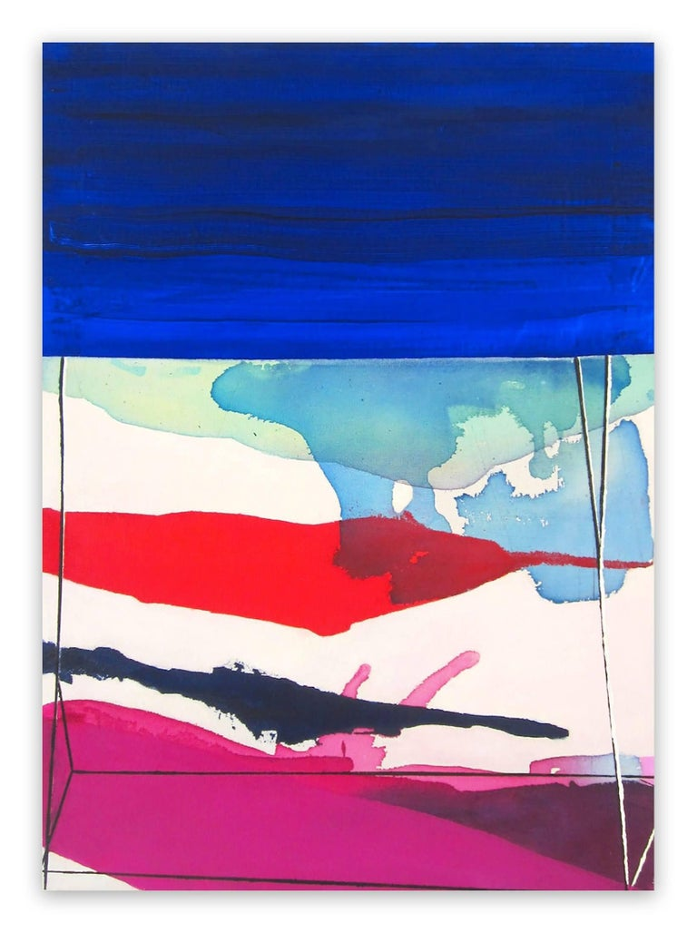 Laura Newman Abstract Painting - Blind