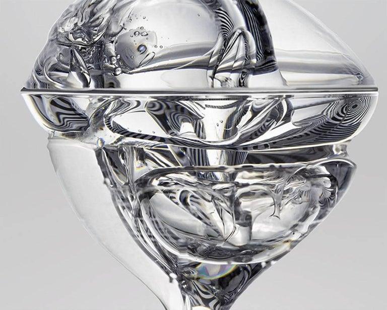 Gravity - Liquid 04 (Medium) - Abstract Photograph by Seb Janiak