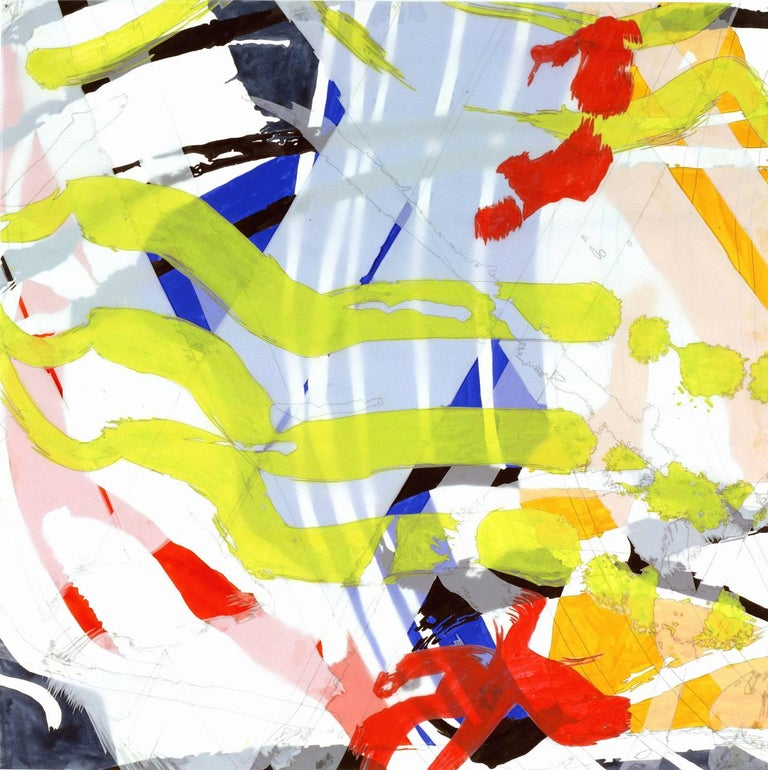 Ellen Priest Abstract Painting - Jazz: Miles ʻSomeday My Prince' 8