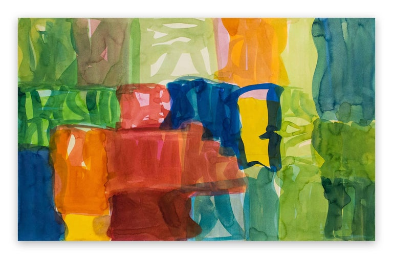 Melissa Meyer Abstract Drawing - Yaddo A