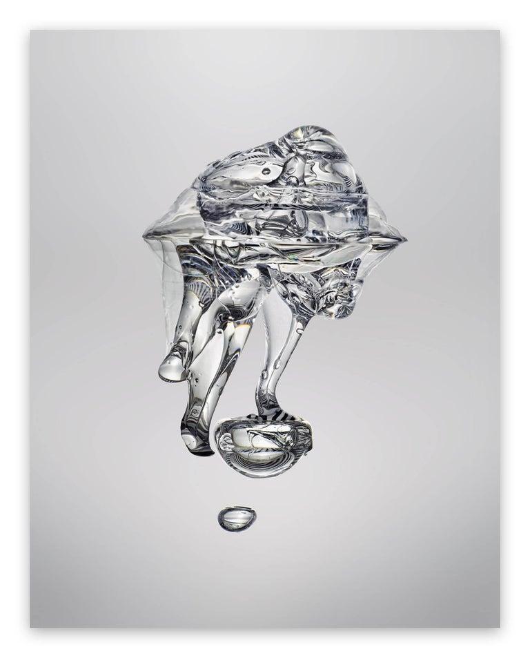 Seb Janiak Abstract Photograph - Gravity - Liquid 02 (Large)