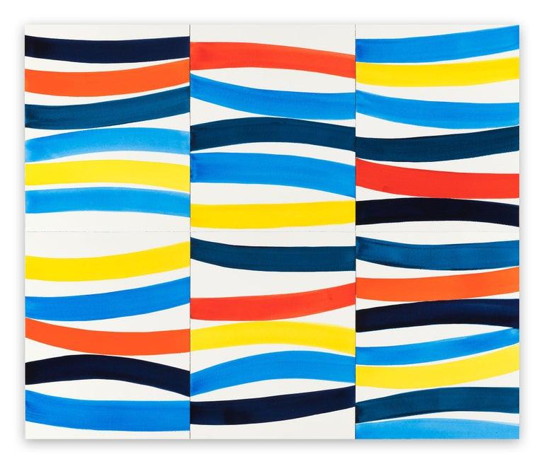 Kim Uchiyama Abstract Drawing - Waterway II
