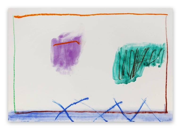 Claude Tétot Abstract Drawing - Untitled 4