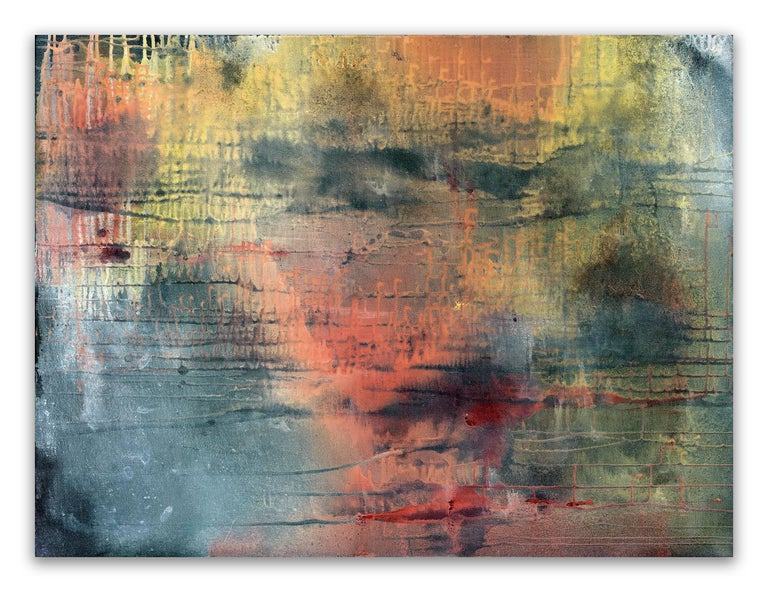 Yari Ostovany Abstract Painting - Fragments Of Poetry And Silence No. 39