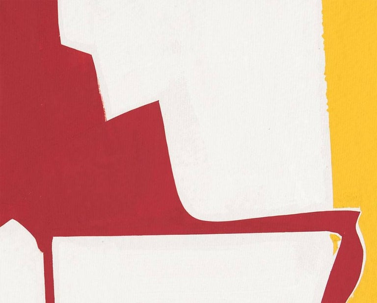 Covers 13-Red Yellow  - Hard-Edge Painting by Joanne Freeman