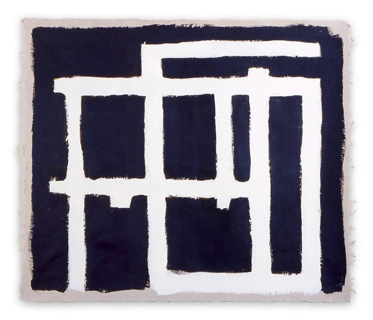 Dana Gordon Abstract Painting - Line and Structure 11