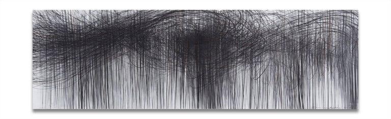 Jaanika Peerna Abstract Drawing - Storm Horizontal 82