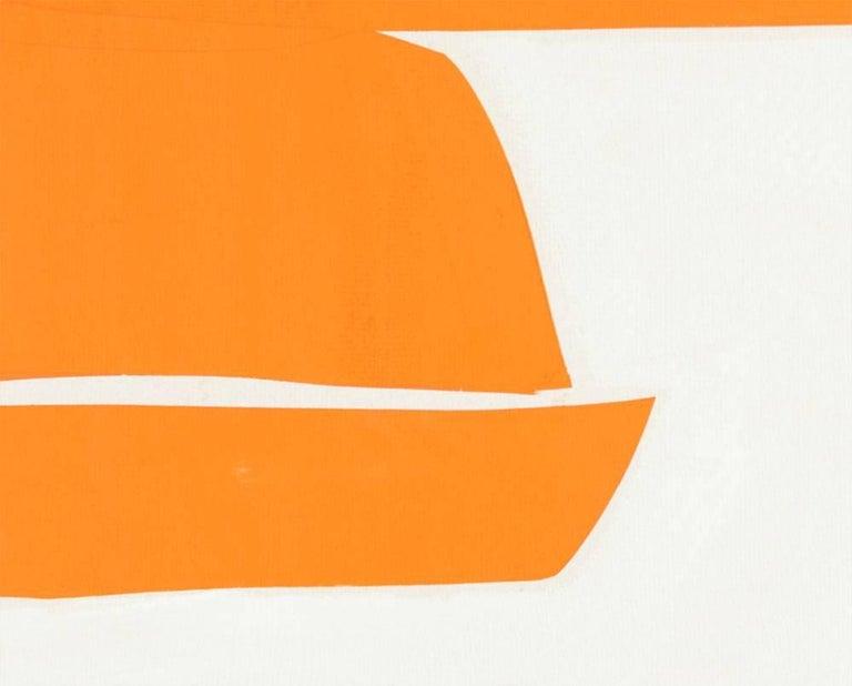 Covers 13-Orange A - Hard-Edge Painting by Joanne Freeman