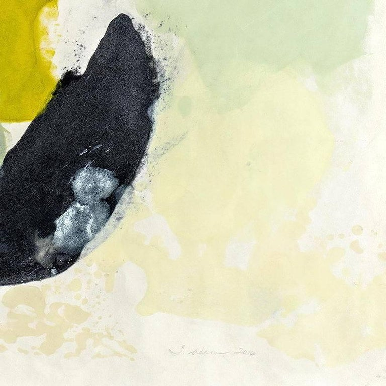 Guna II - Abstract Expressionist Painting by Tracey Adams
