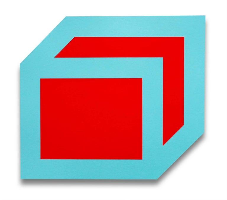 Brent Hallard Abstract Painting - QBE II