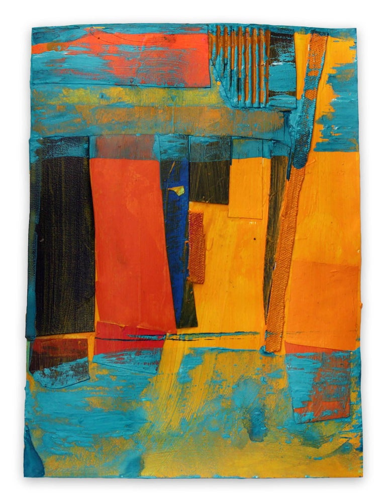 Deanna Sirlin Abstract Painting - Submerged