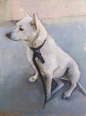 UNTITLED (WHITE DOG)