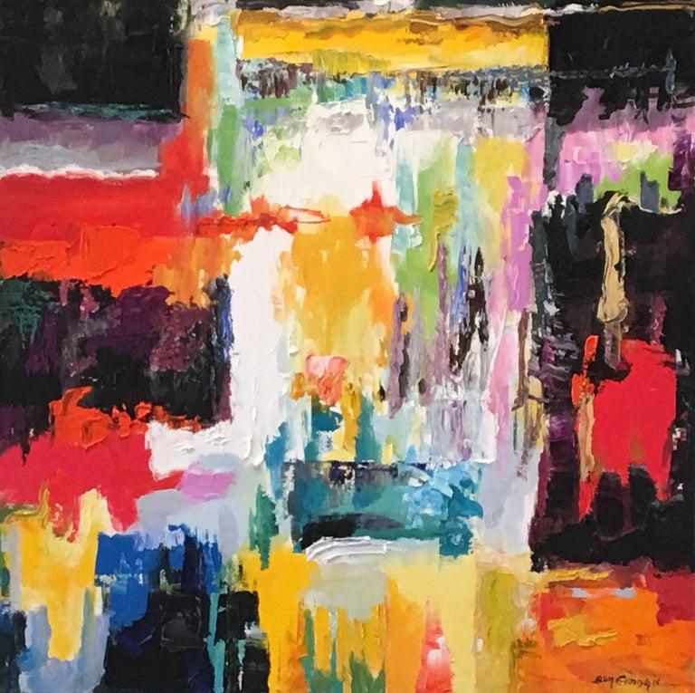 Ben Georgia Abstract Painting - Intermezzo V