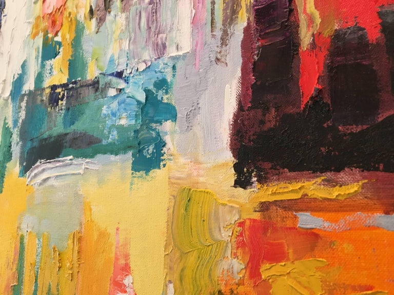 Intermezzo V - Abstract Expressionist Painting by Ben Georgia
