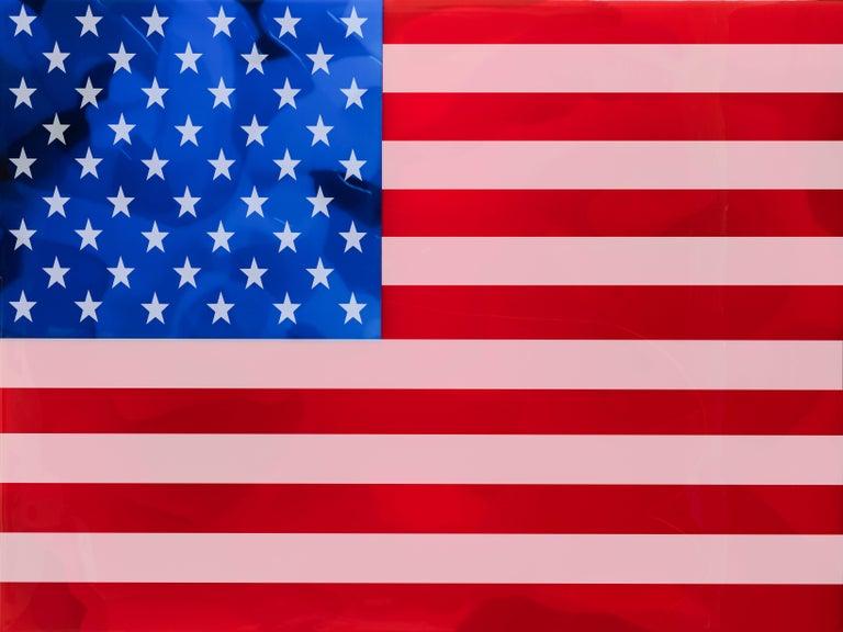Alberto Murillo Figurative Painting - American Pride