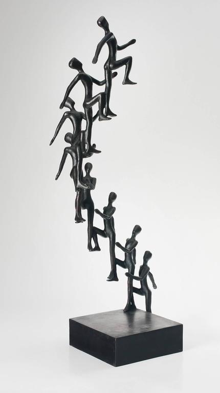 Tolla Inbar Figurative Sculpture - Sky is the Limit