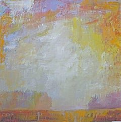 """Summer Space"" -- Romantic, American Monet, Landscape, Abstract"