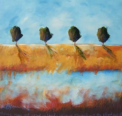 Four Trees & Pond