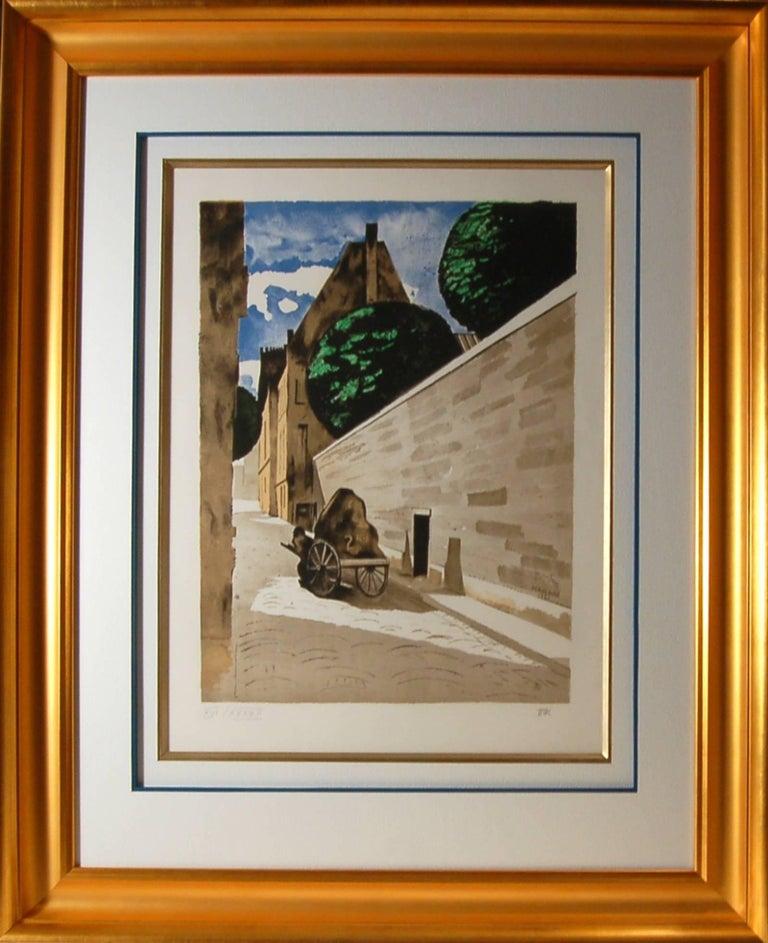 Man Ray Figurative Print - Rue Ferou