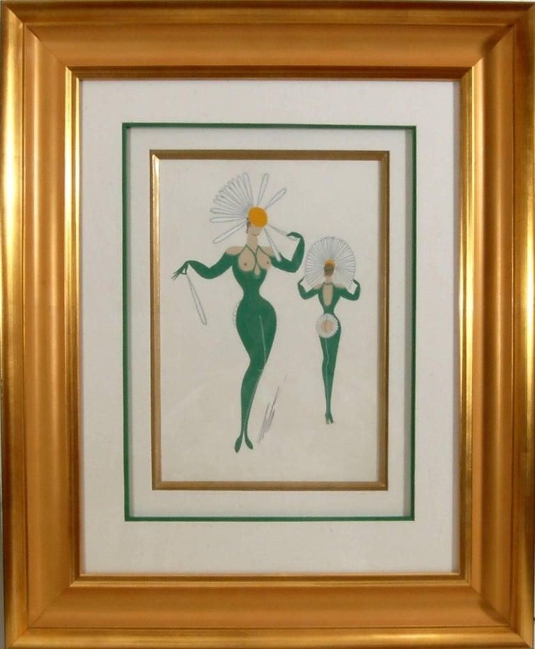 Erté Figurative Art - La Marguerite