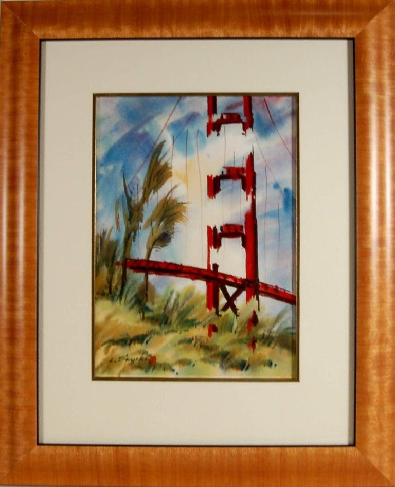 Lewis Suzuki Golden Gate Bridge San Francisco For Sale