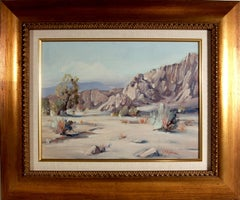 Desert Scene near Palm Spring