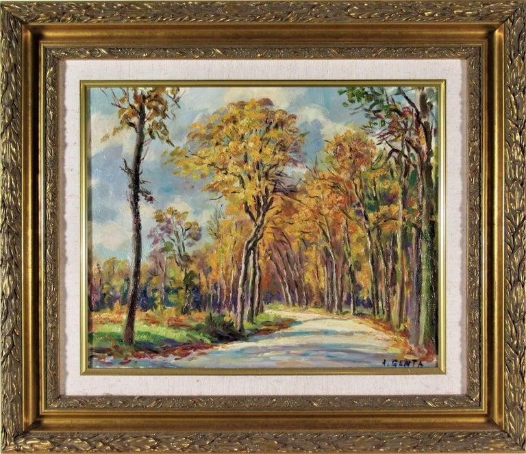 Albert Genta Landscape Painting - Le Bois de Vicennes