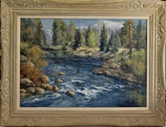 Califonia Landscape with River