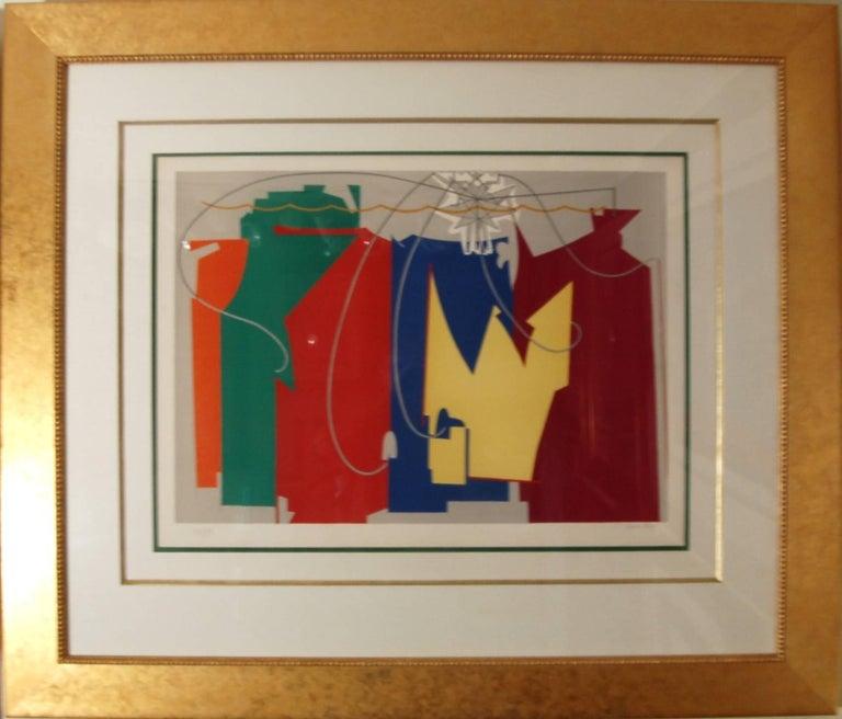Man Ray Abstract Print - La Danseuse de Cordes Avec Son Ombre