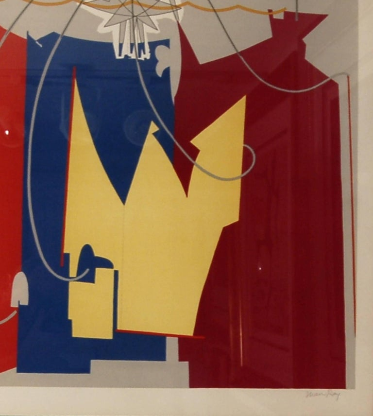 La Danseuse de Cordes Avec Son Ombre - Brown Abstract Print by Man Ray