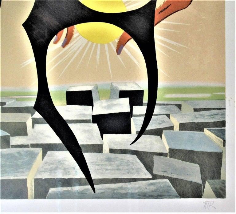 Rebus II - Dada Print by Man Ray