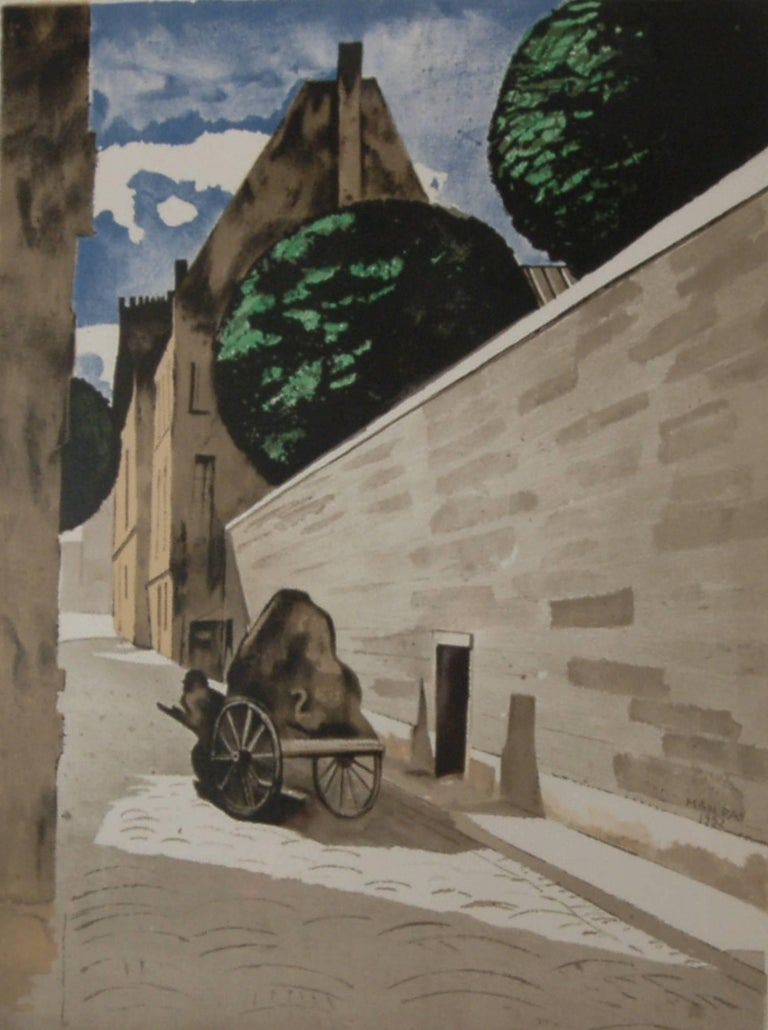 Rue Ferou - Print by Man Ray