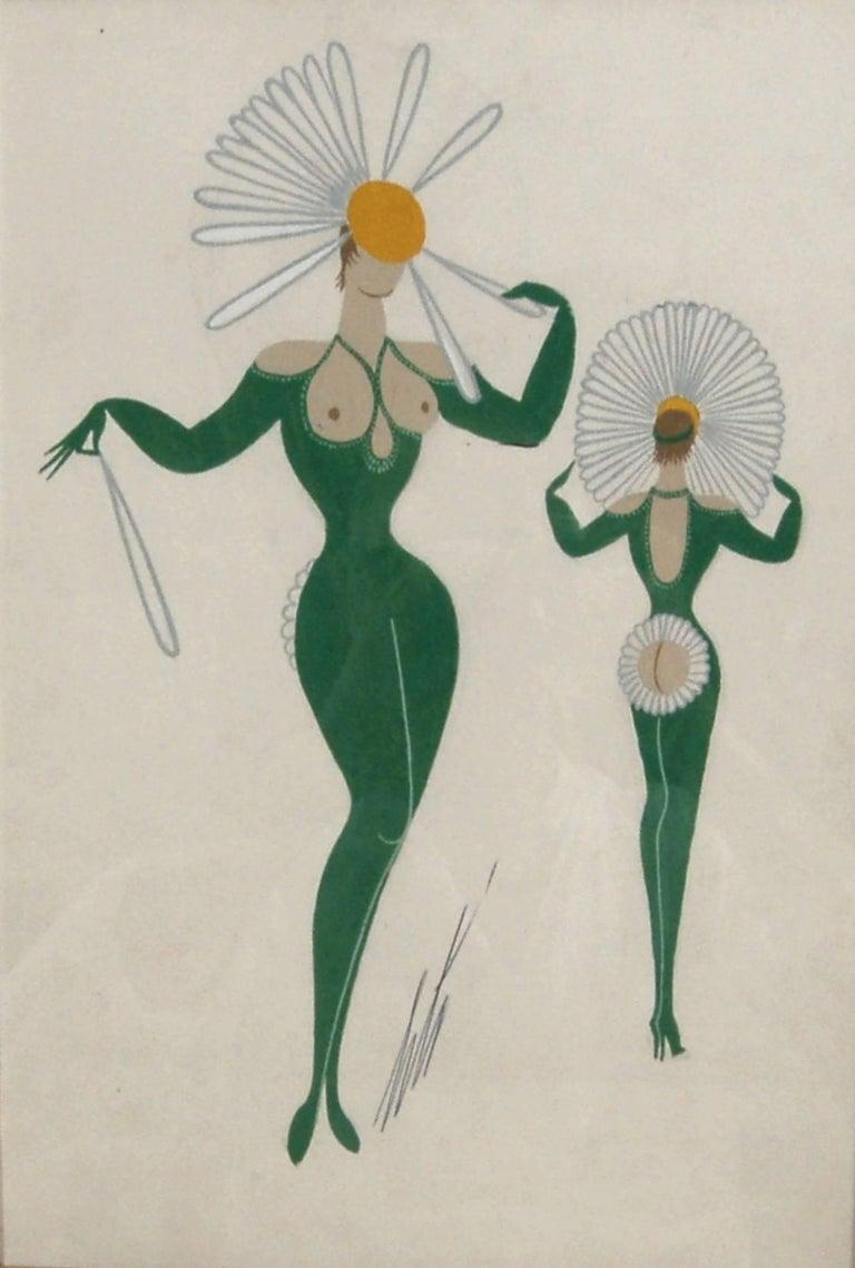 La Marguerite - Art by Erté
