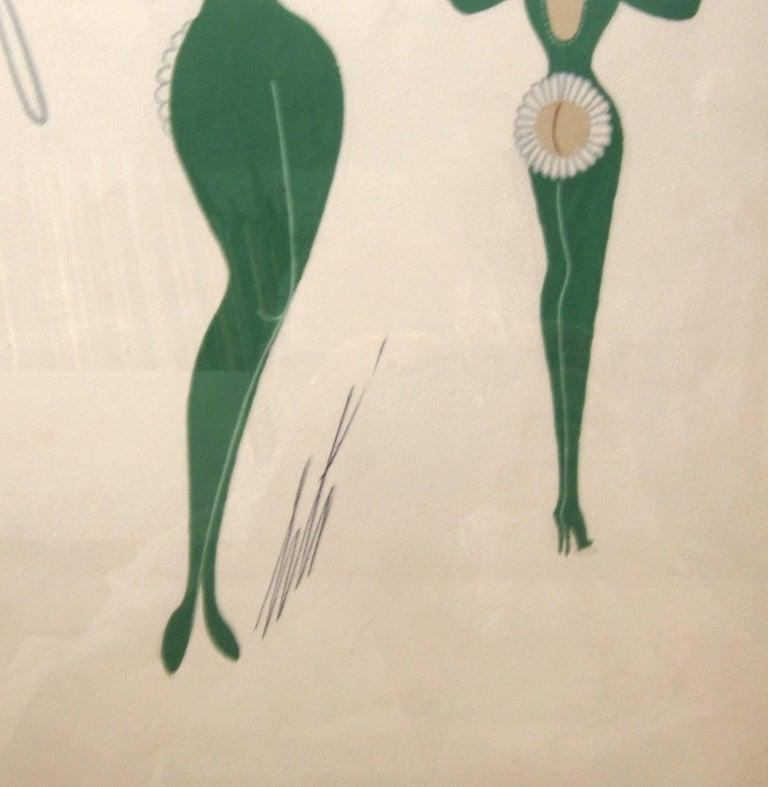 La Marguerite - Art Nouveau Art by Erté
