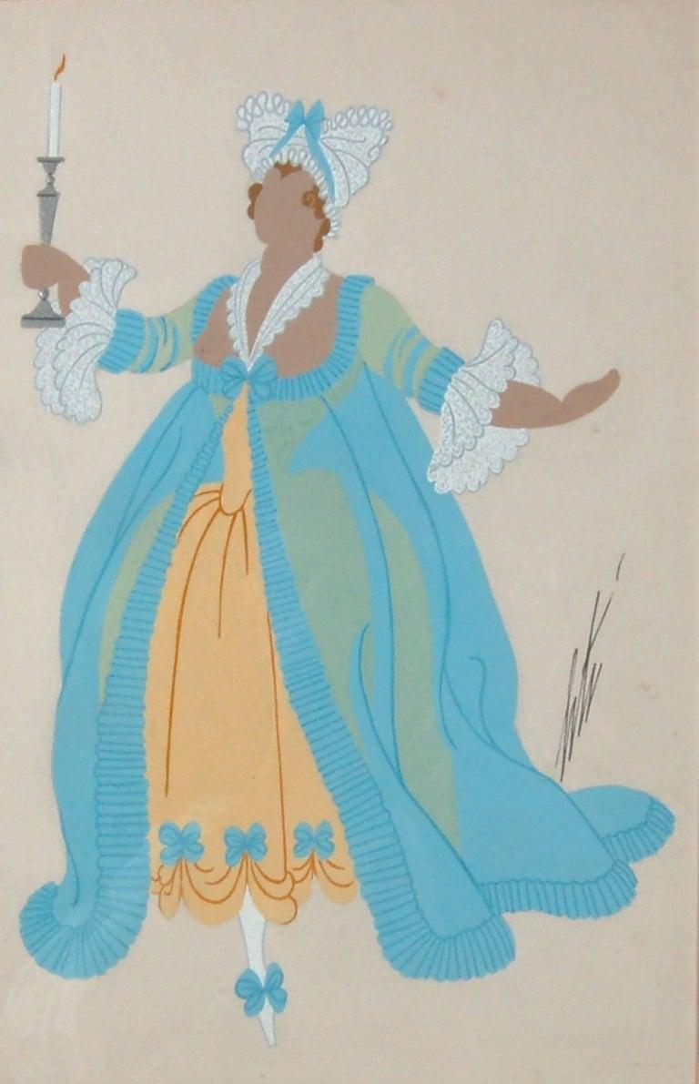 Madame De Chateaubedeau - Art Nouveau Art by Erté