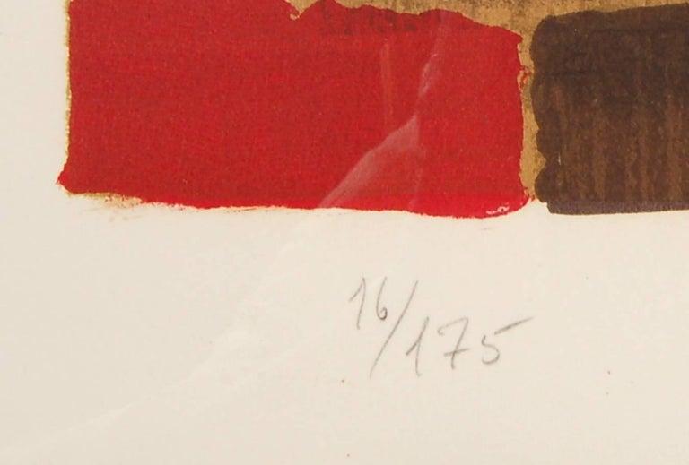 Senza Titolo - Brown Still-Life Print by Man Ray