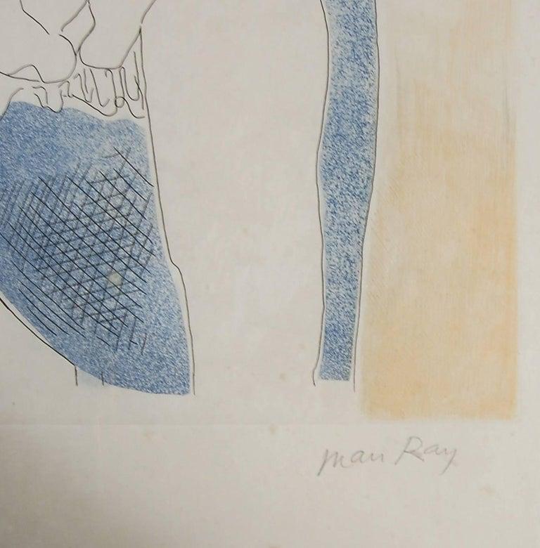 Tony - Dada Print by Man Ray