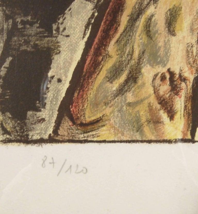Les Nuits de Saint Jean De Luz - Beige Figurative Print by Man Ray