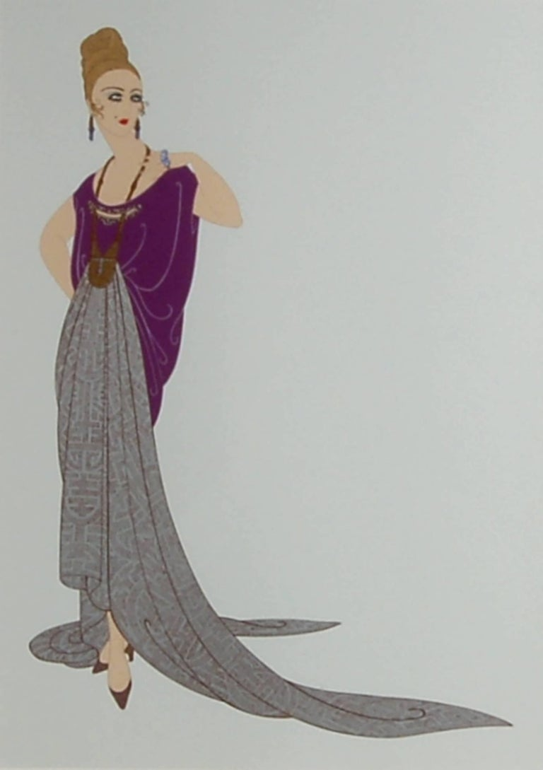 At the Ball - Print by Erté