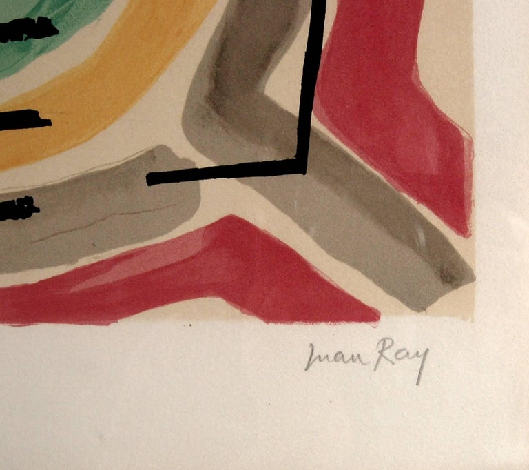 Serpent, from the suite, Origine Des Especes - Dada Print by Man Ray